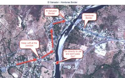 El Salvador to Honduras Border Crossing – El Amatillo