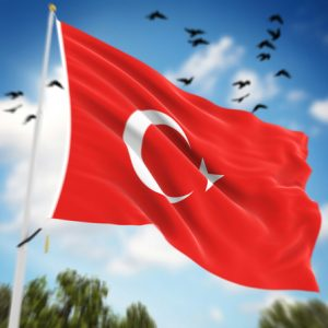 Turkey Flag ,
