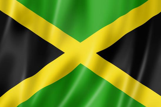 Jamaica flag,