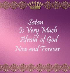 Satan is Afraid 3293790920