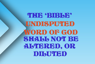 The Bible 734051792088