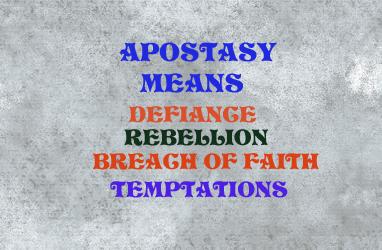 Apostasy 9152311519209