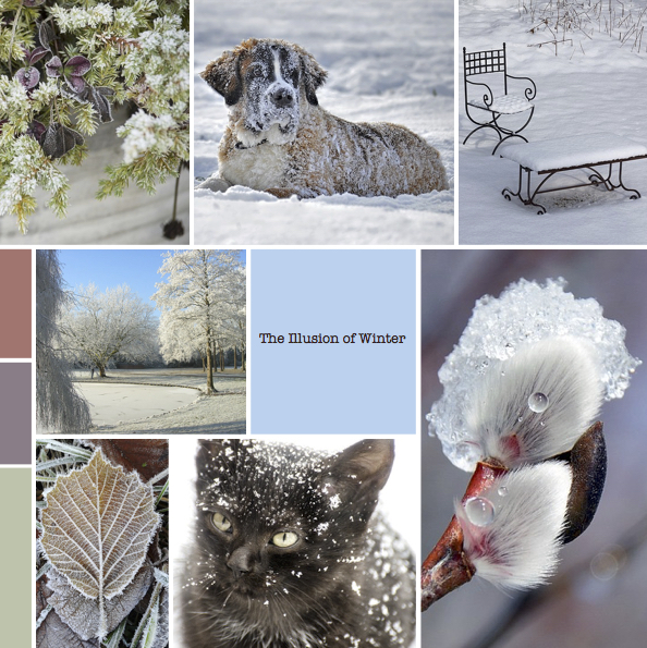 "Mood board – Udendørs: ""The Illusion of Winter"""