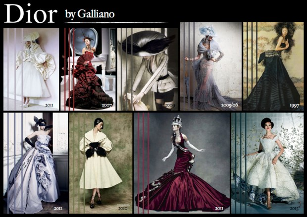 "Mood board – Mode: ""Dior by Galliano"""