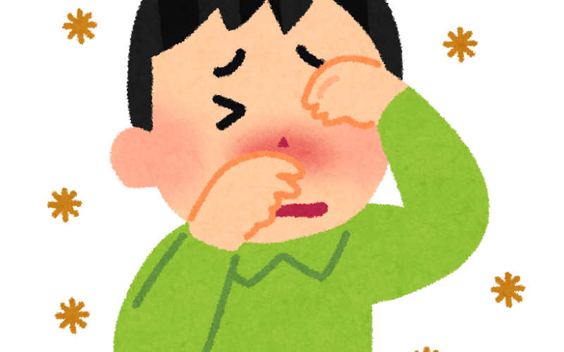 ここ数年の花粉症は肺にダメージを受ける~大陸からヤバイ物質が飛んで来てるせいだと思う