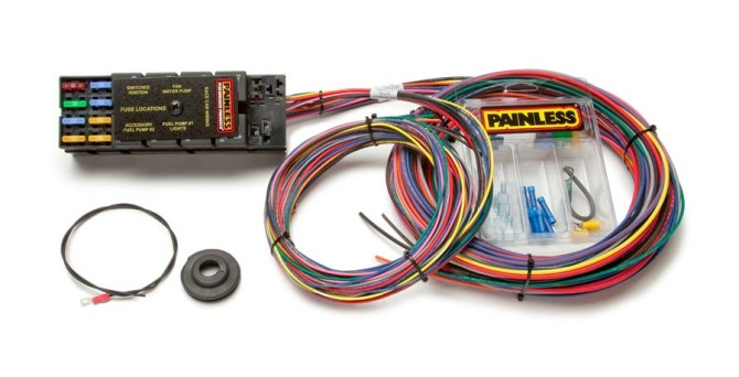 10 circuit race only chassis harness  painless performance