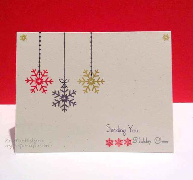 Card 12 - Holiday Cheer OLC