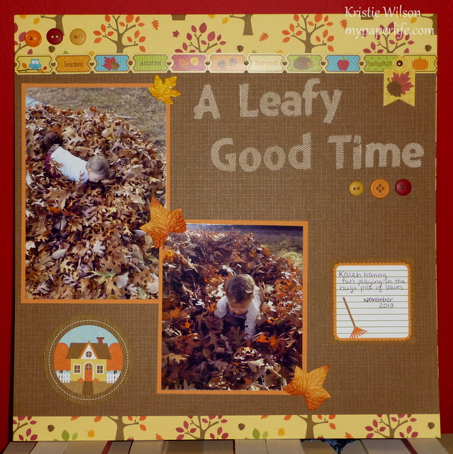 Page 1 - A Leafy Good Time