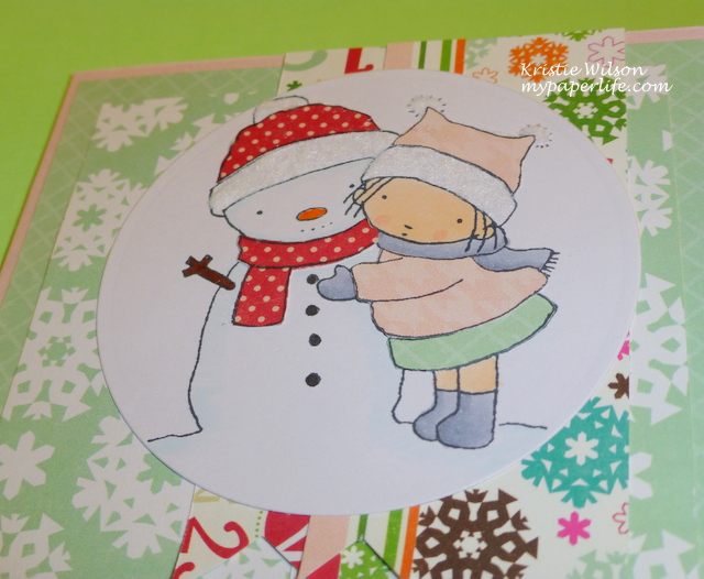 Card 10 - MFT Merry Kissmas close