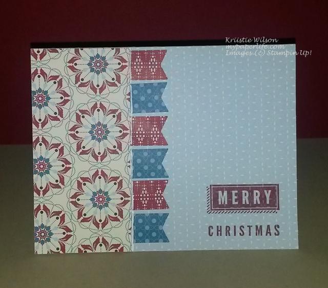 Card 3 - April2014 A Banner Christmas 2
