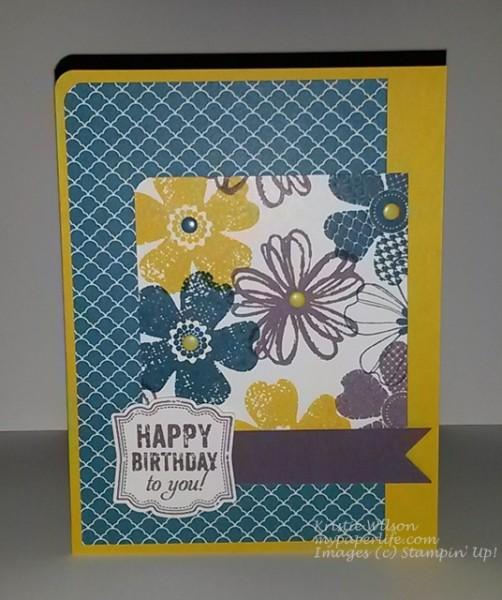 Card 4- SU Label Love Flower Shop Birthday