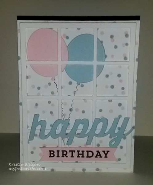 2014 Card 111 - MFT Happy Everything Confetti