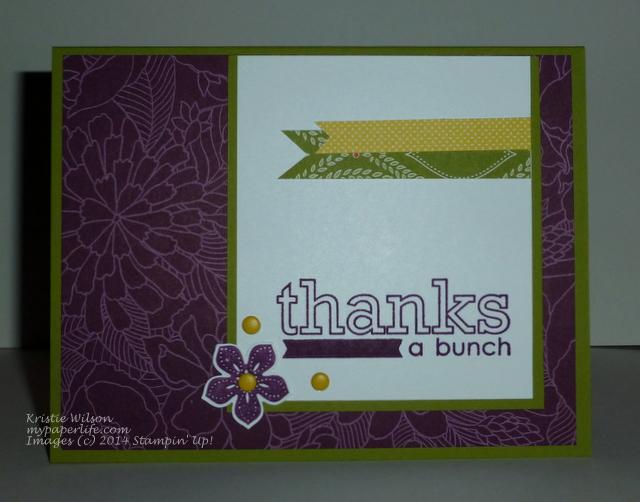 2014 Card 114 - SU Occasions 4 you