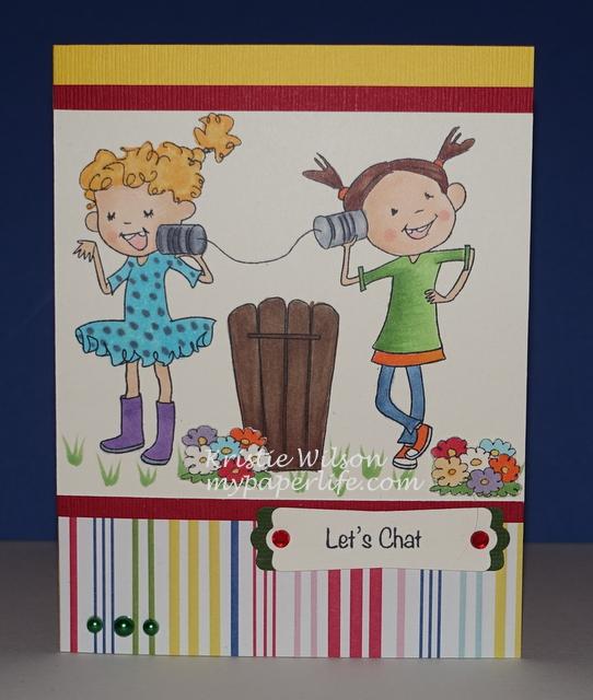 2015 Card 24 - SugarPea Tin Can Chat