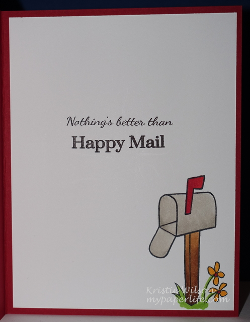 2015 Card 32 - SPD Happy Mail inside