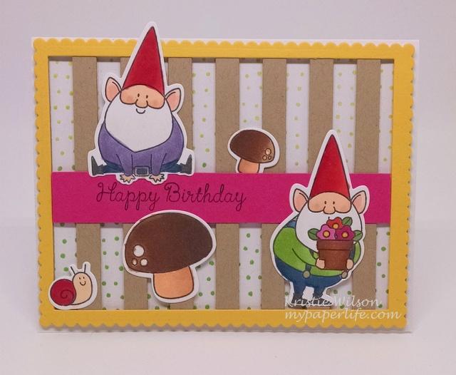 2015 Card 51 - MFT You Gnome Me