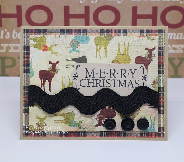2015 Card 62 - Hero Arts Holiday Cheer