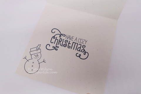 2015 Card 71 - MFT MSTN Christmas Cuteness Cozy Greetings