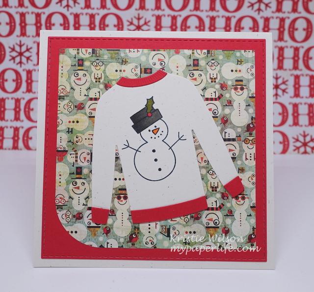 2015 Card 71 - MFT MSTN Christmas Cuteness