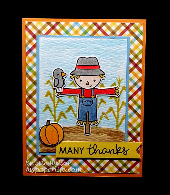 2015 Card 106 - Lawn Fawn Happy Harvest