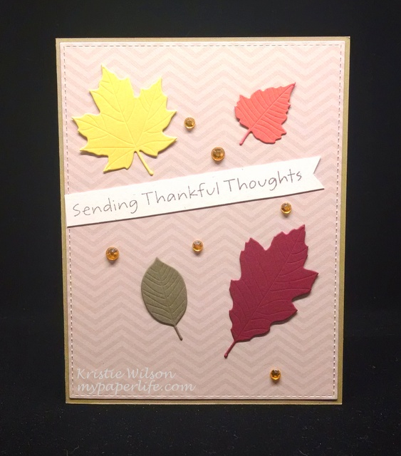 2015 Card 107 - MFT Falling Leaves