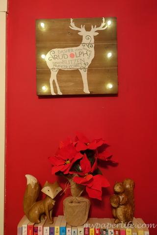 Rustic Reindeer Corner