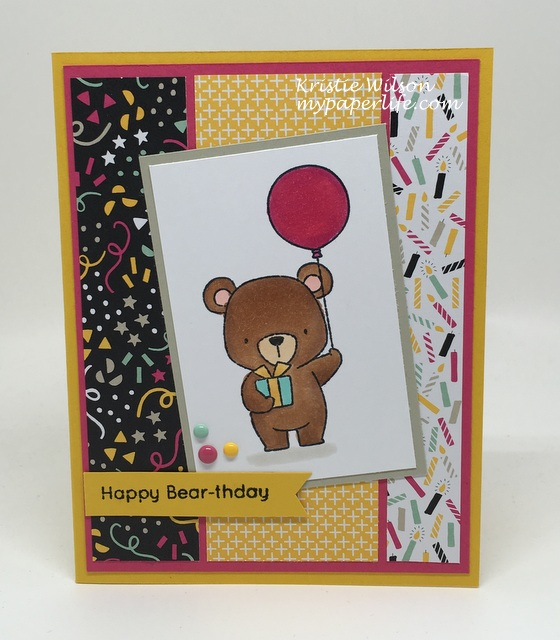2016 Card 80 - MFT Beary Special Birthday