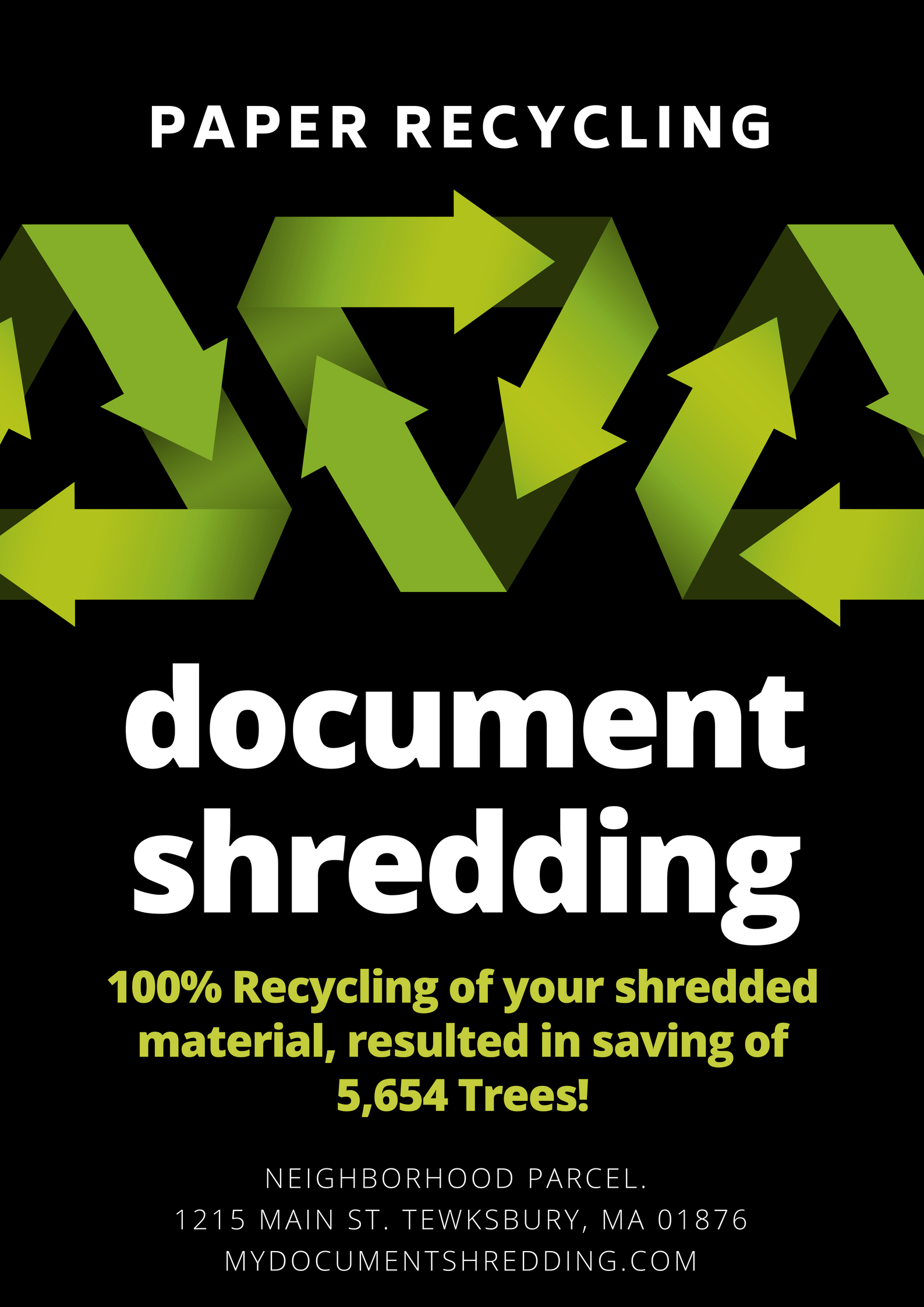 Personal document shredding service Boston MA