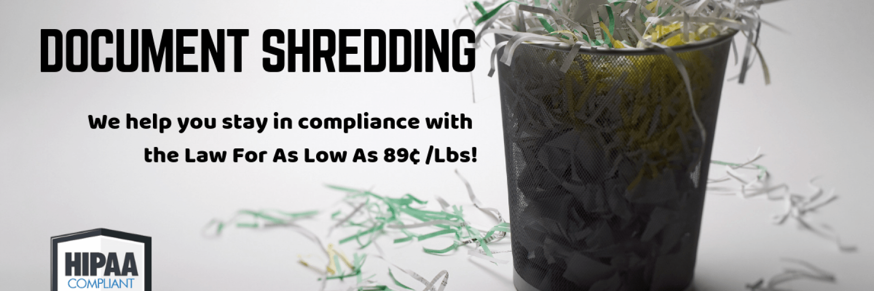 Gardner MA Document Shredding Service