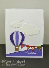 Hot air balloon hello 01