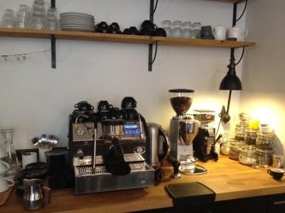The coffee machine