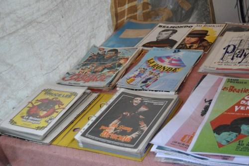 vintage books paris posters