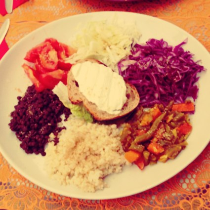 find a vegetarian place to eat in Paris
