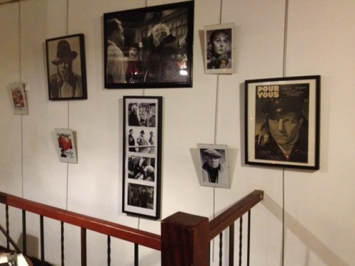 Mr. Jean Gabin on the walls