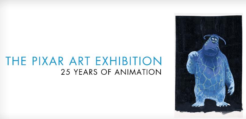 pixar 25 years paris art ludique
