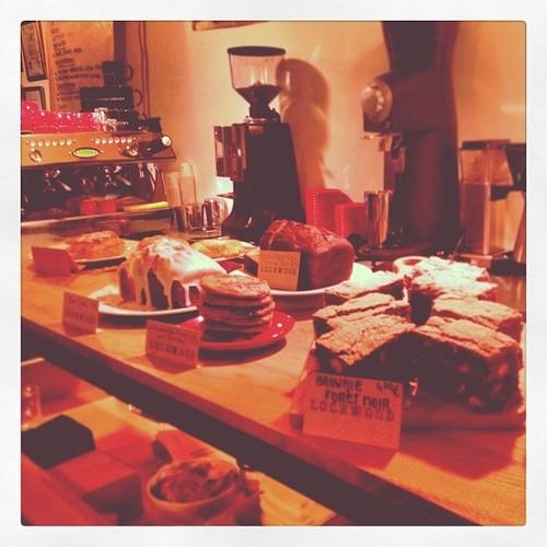 Lockwood paris cafe menu brownie