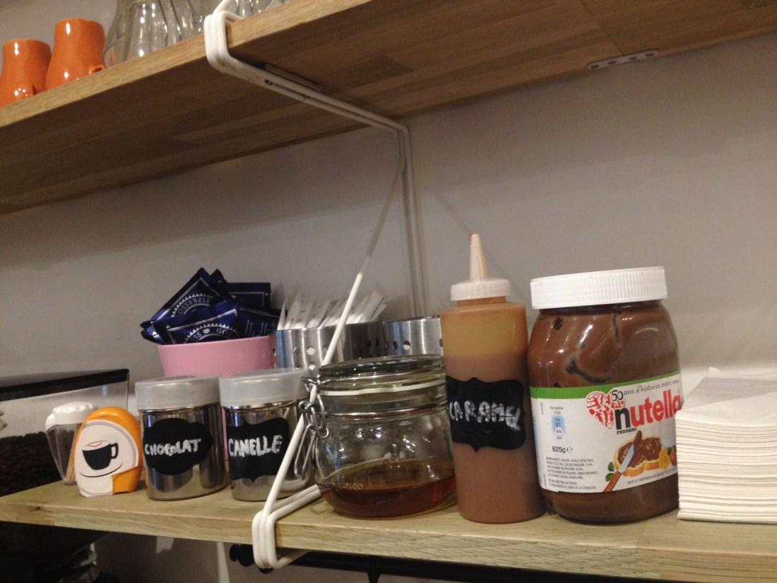 Anti cafe paris nutella