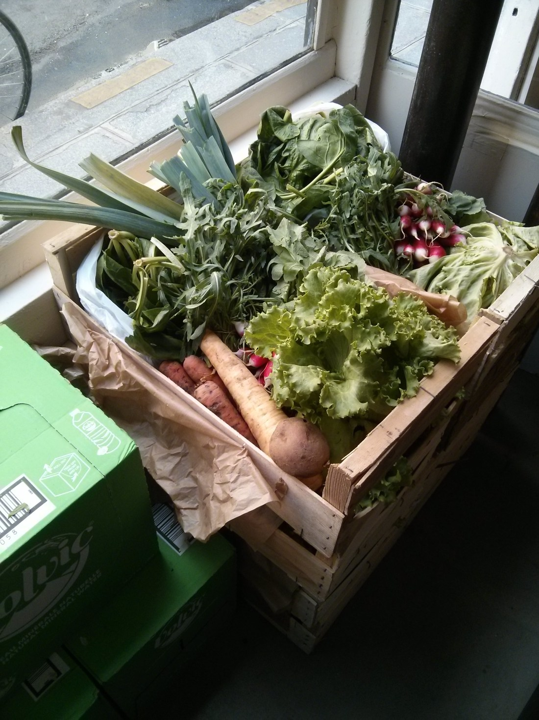 vegetable basket paris local organic bio