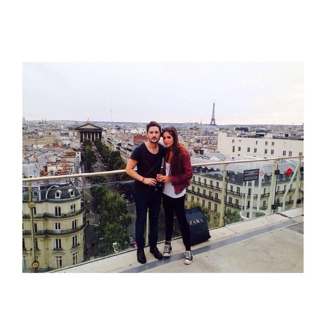 Rooftop Printemps Paris