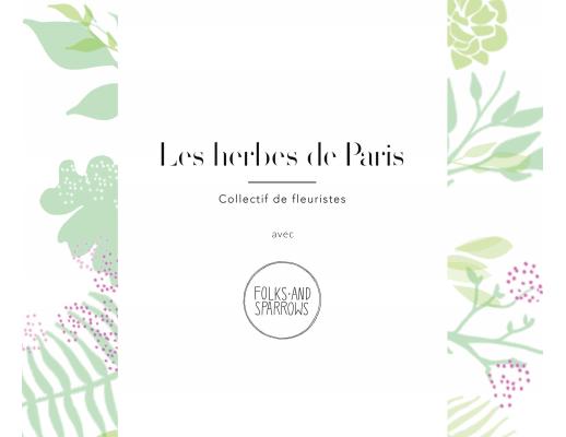 Flower workshop paris 2015