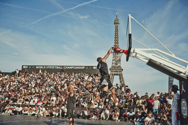 Jordan in paris 2015 streetball anniversary
