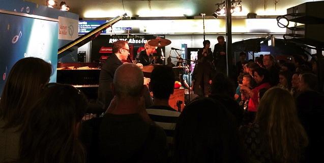 Free concert at Auber
