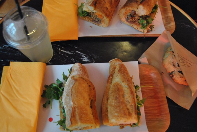 vietnamese sandwich lunch paris