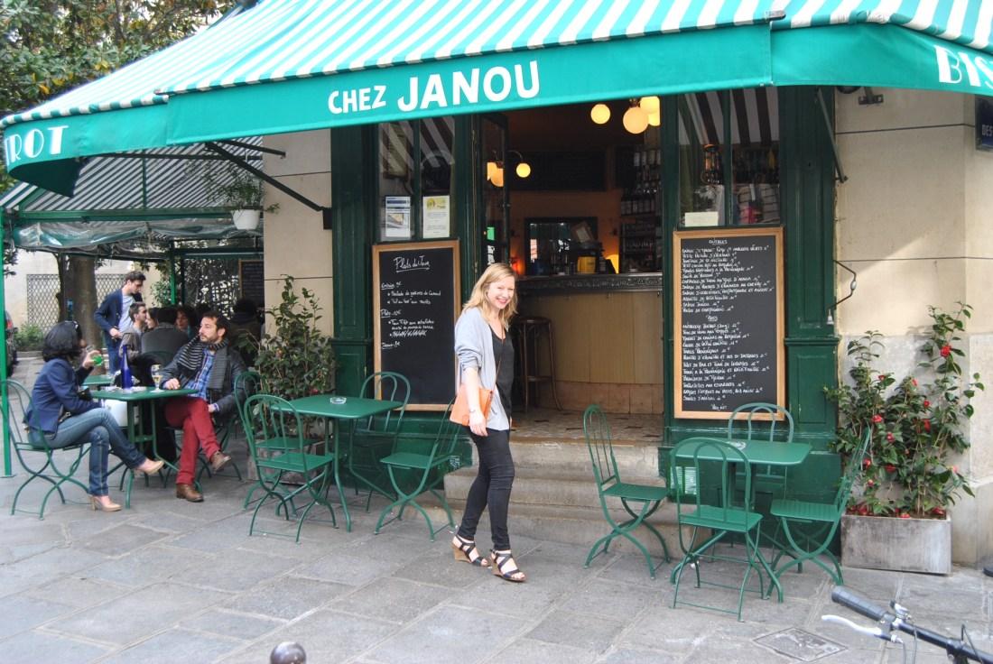 Life in Paris - Chez Janou with Anna