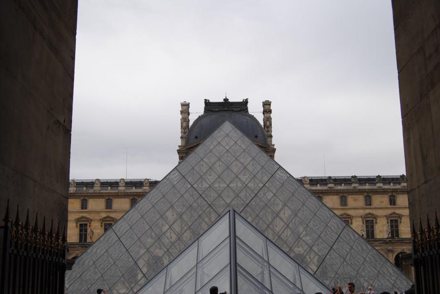 Louvre museum yanique paris