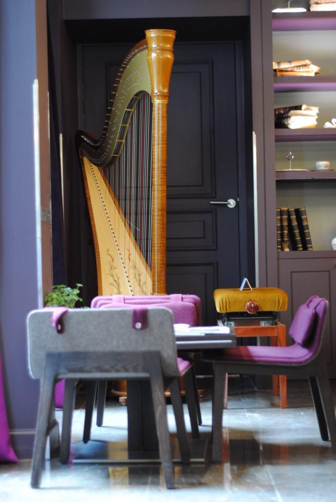 harp cool hotel paris