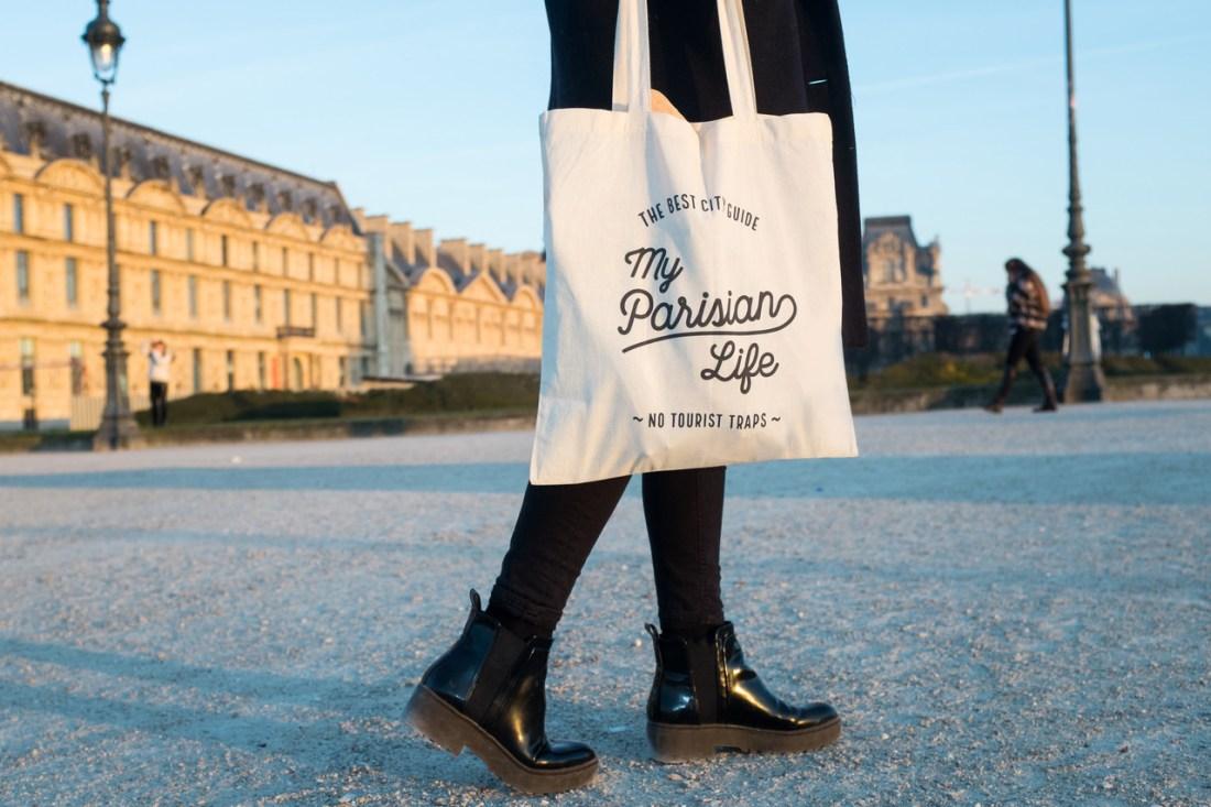 Paris food box - bag