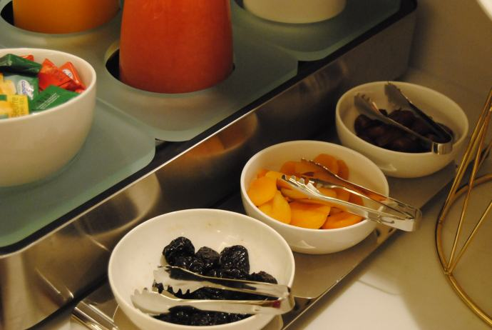 buffet french breakfast hotel pastel paris