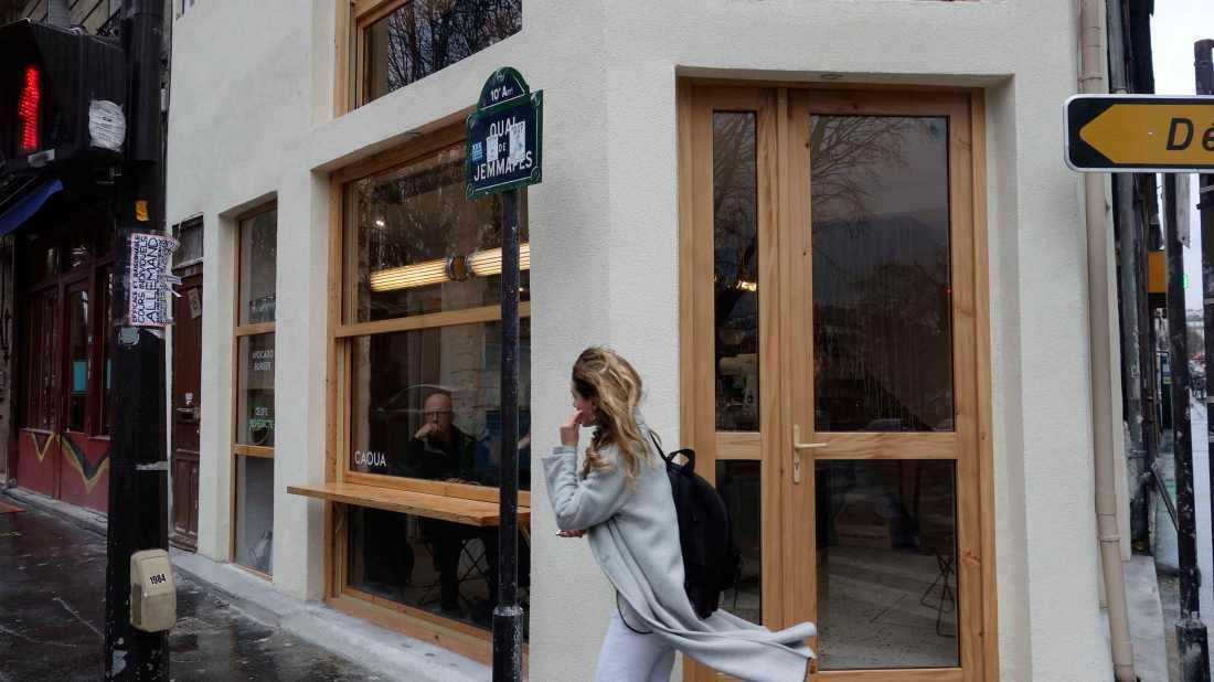 paris new coffee shop caoua