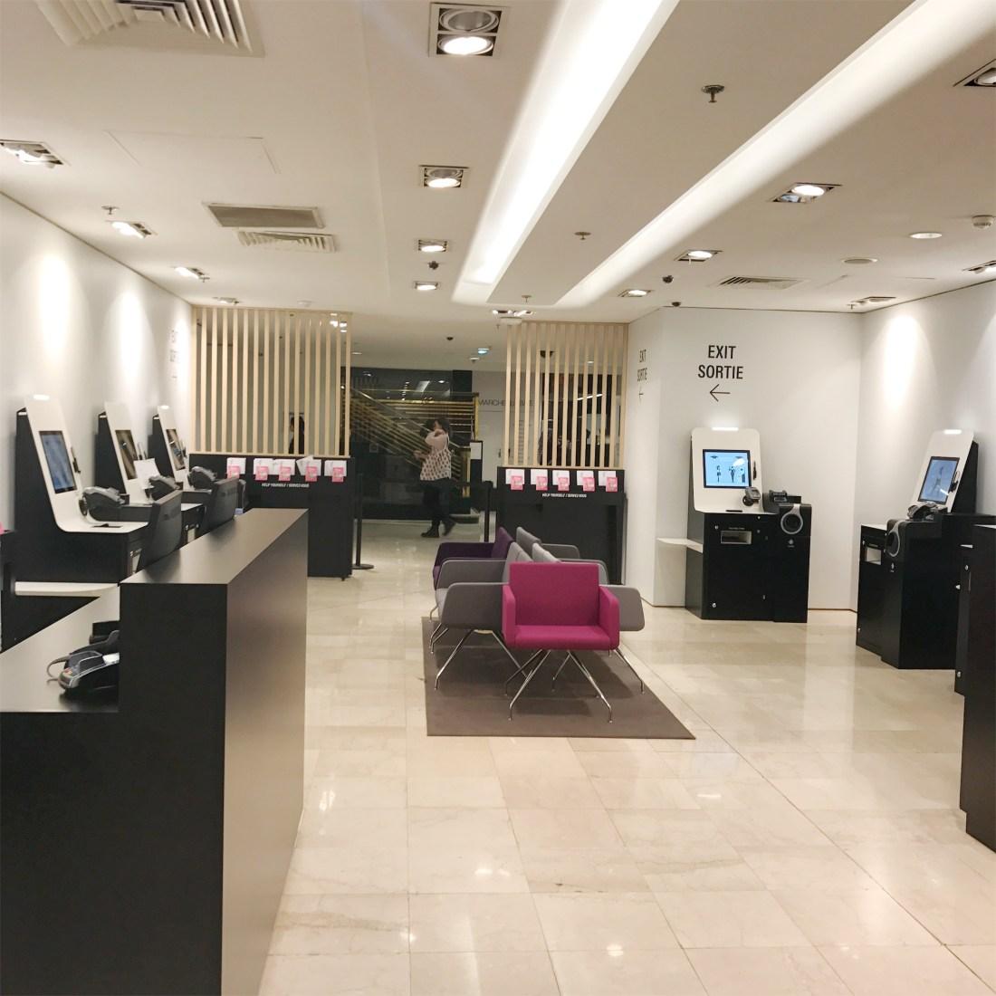 tax refund at galeries lafayette paris